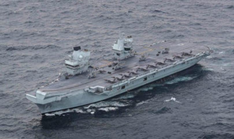 HMS Queen Elizabeth has achieved Initial Operating Capability (IOC). Crown copyright.