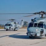 """La Décima Escuadrilla se adiestra con los MH-60R de los """"Griffins"""""""