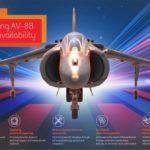 BAE Systems respaldará la flota estadounidense AV-8B Harrier hasta 2029