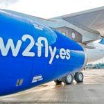 El primer avión de la española World2Fly ya luce sus colores corporativos