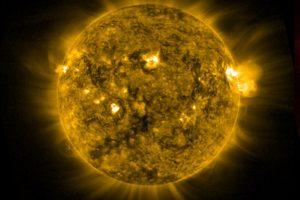 Primeras imágenes del satélite GOES-16 que monitoriza el clima solar y terrestre