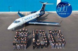 Embraer entrega el Phenom 300 número 500