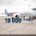 Airbus entrega el MSN10.000 de la Familia A320