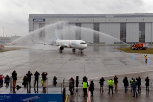 Primer vuelo del A321LR