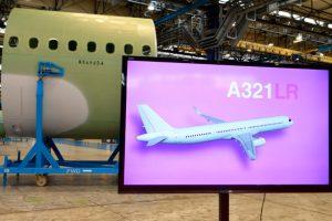 Leonardo entrega la primera sección del fuselaje delantero para el A321 LR