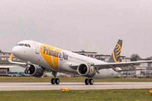 Primera Air recibe su primer A321neo