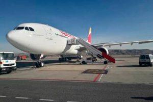 """Iberia completa su pedido de aviones A330-200 con la llegada del """"Johannesburgo"""""""