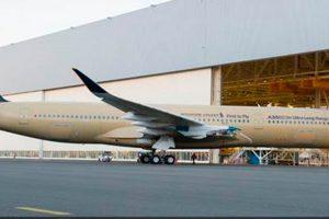 El primer A350 XWB Ultra Long Range sale de la FAL de Toulouse