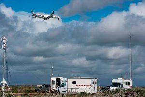 El A350-1000 completa campaña de pruebas de ruido en España