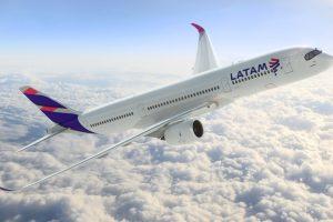 LATAM Airlines France incorpora el A350 para sus vuelos entre ParísySão Paulo