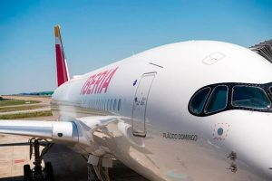 El primer A350 XWB de Iberia ya está en fase final de montaje