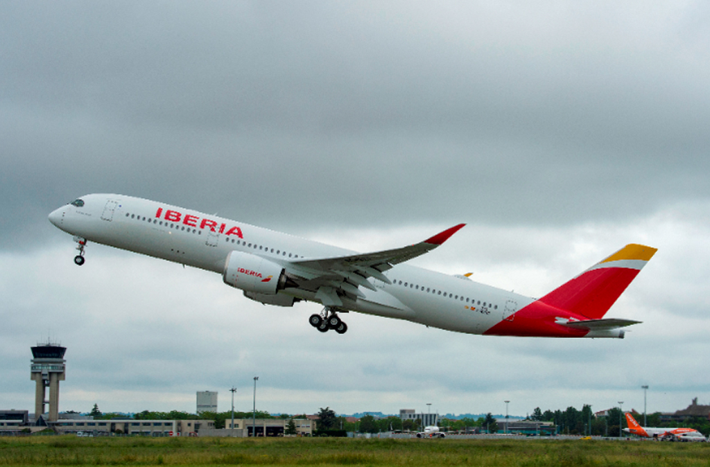 A350, Iberia,