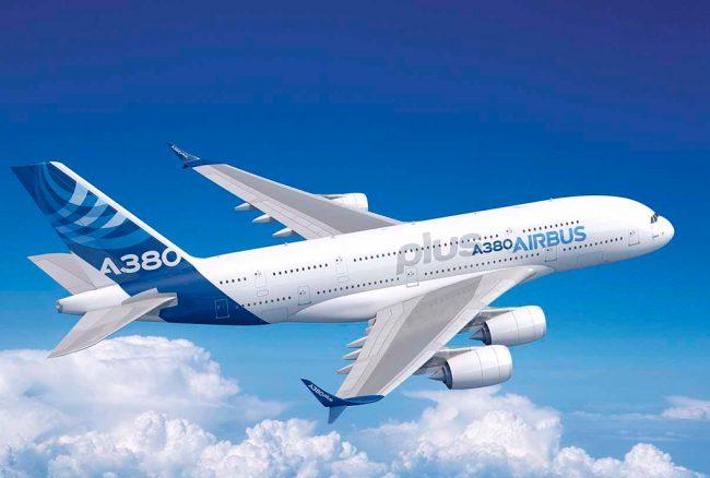 Airbus presenta el A380plus