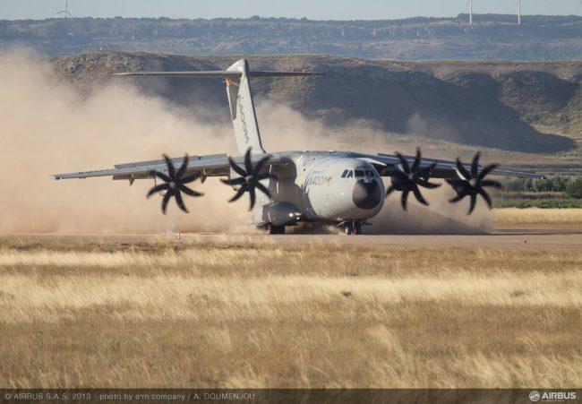 La campaña de pruebas del A400M supera las 10.000 horas