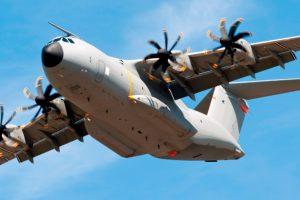 Aviones A400M del Ejército del Aire serán equipados con el sistema InShield DIRCM de Indra