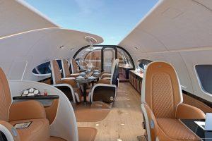 Airbus Corporate Jets y Pagani anuncian la cabina Infinito