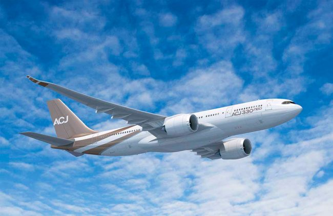 Airbus Corporate Jets lanza el ACJ330neo