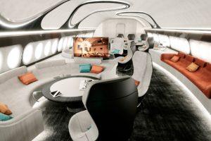 """Airbus Corporate Jets (ACJ) presenta el concepto de cabina """"Harmony"""""""