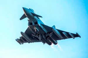 El Brimstone es usado por primera vez en combate por los Eurofighter británicos