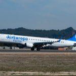 Air Europa Express lanza una convocatoria para contratar 50 copilotos para su flota Embraer