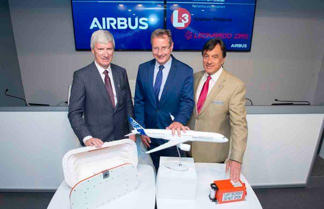 Airbus y L3 Technologies lanzan una nueva generación de cajas negras
