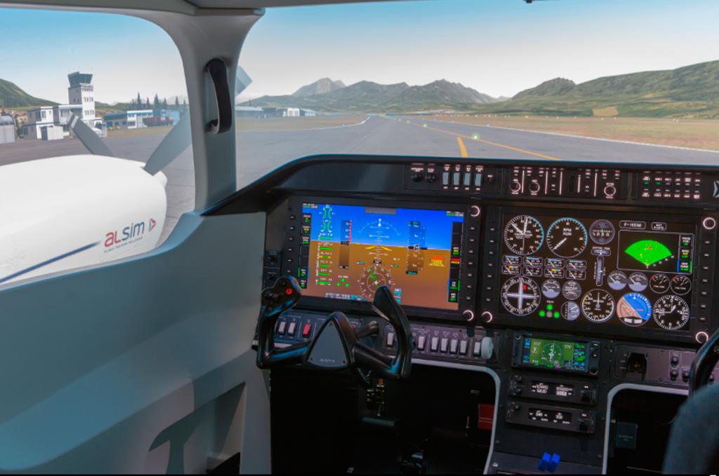 Simulador, AL250, Alsim