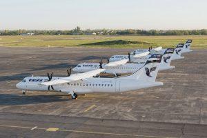 Iran Air recibe sus primeros cuatro ATR 72-600s