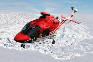 El AW169 se utilizará en las Misiones Científicas de Exploración Polar Chinas