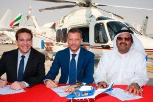 Milestone Aviation y Leonardo proporcionarán de 3 AW169 a Falcon Aviation