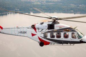 Leonardo presenta su helicóptero AW189K en Helitech