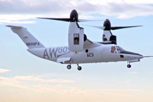 El programa AW609 de Leonardo avanza preparándose para nuevas pruebas