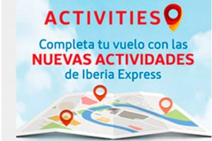 Iberia Express lanza la plataforma Activities