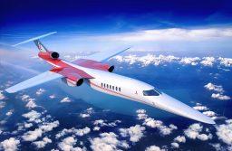 El primer vuelo supersónico del Aerion será en 2023
