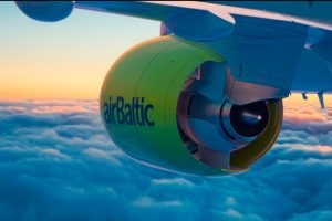 airBaltic celebra el primer año de operaciones con el CS300