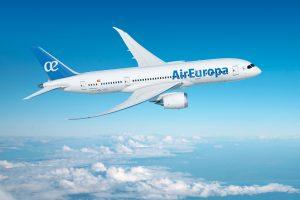 Air Europa aterriza en Montevideo con la flota Dreamliner