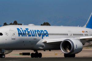 Air Europa triplica los megas gratis que ofrece a los pasajeros business de largo radio