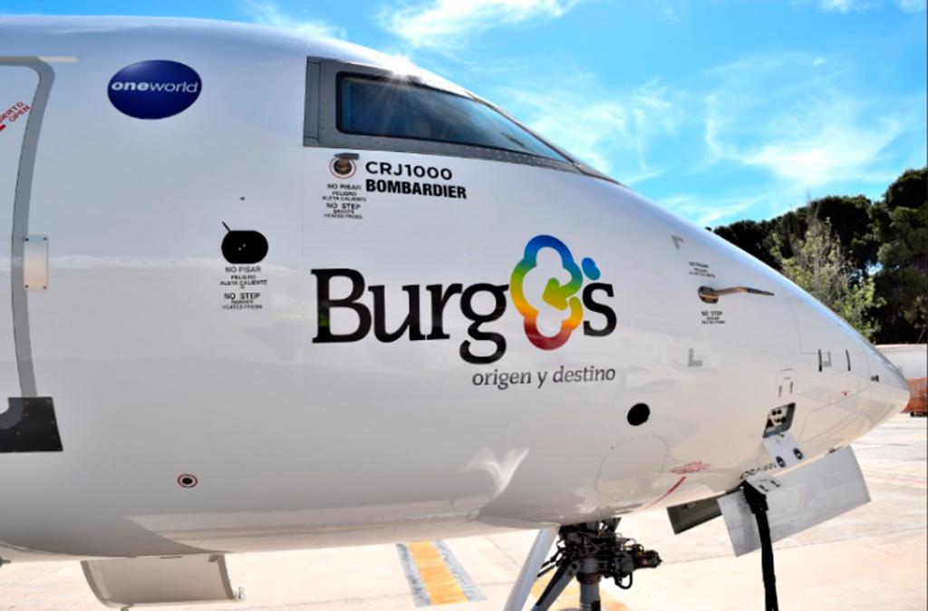 Air NOstrum, CRJ1000, Burgos