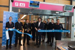 Air Europa inaugura su nueva ruta a Boston