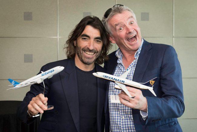 Alianza de Air Europa con Ryanair para los vuelos de largo radio