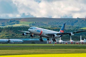 Primer vuelo de la unidad de demostración del ala de flujo laminar de Airbus