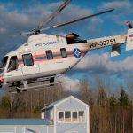 Rostec entrega el primer helicóptero Ansat a EMERCOM de Rusia