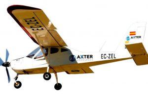 CT y Axter Aerospace impulsan la investigación para obtener un avión ligero 100% eléctrico