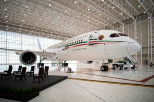Avión Presidencial, México, B787-8