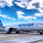 Aterriza en Madrid el primer 787-9 de Air Europa