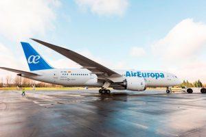 Air Europa ameniza el embarque y desembarque del pasaje con una nueva música más relajante