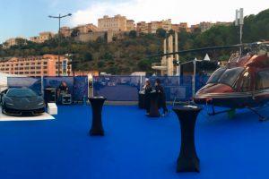 Lamborghini y Bell hacen una muestra conjunta en Mónaco