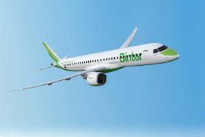 Embraer y Binter firman un contrato de servicios para la nueva flota de E195-E2