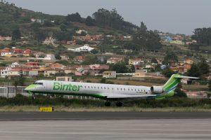 Binter bautiza su nuevo avión con el nombre de Macaronesia
