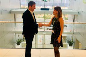 Binter firma un acuerdo de colaboración con la Asoc. Gastronómica Palmera