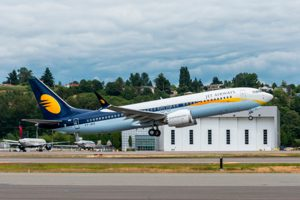 Jet Airways recibe su primer 737MAX